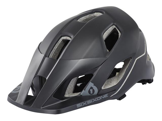 SixSixOne EVO AM Helmet black/grey